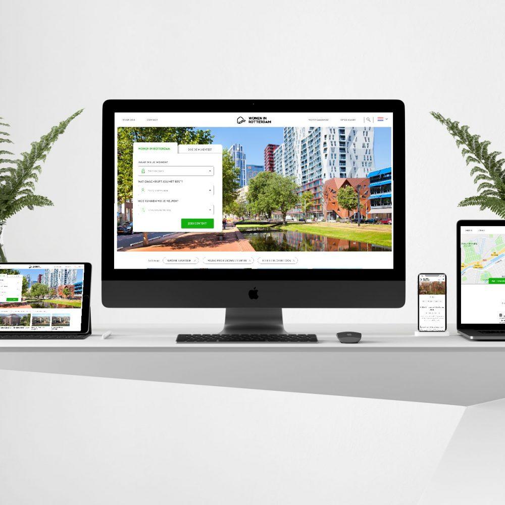 Responsive Website Wonen in Rotterdam